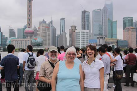 At the BUND, Shanghai