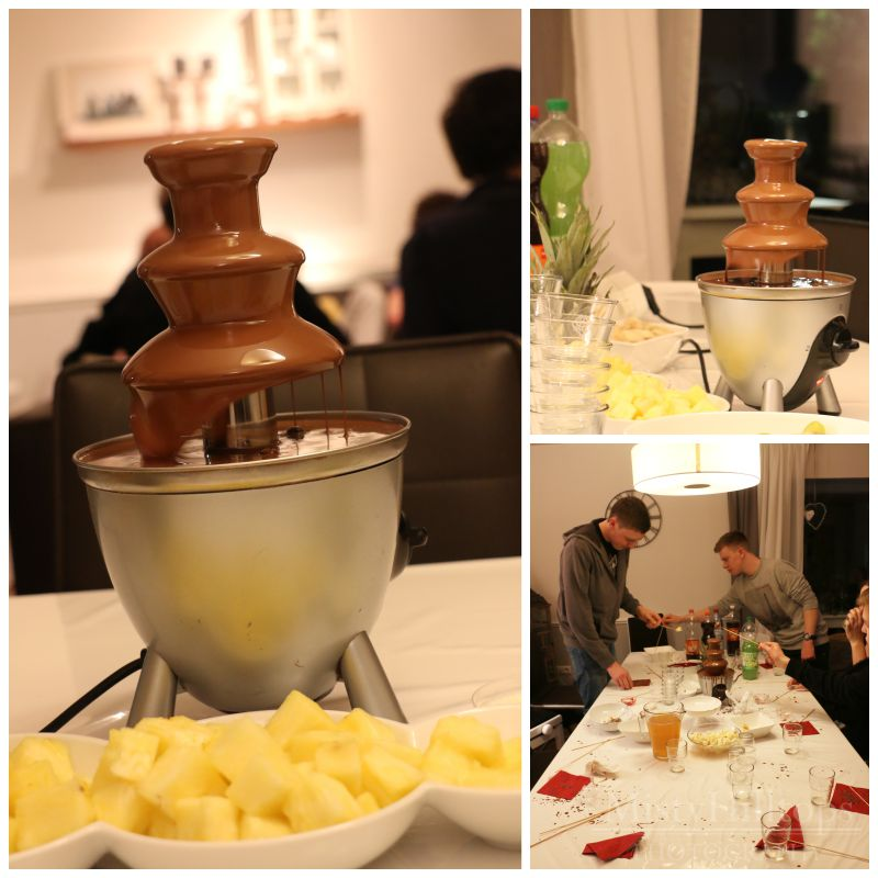 150117 chocolate fountain