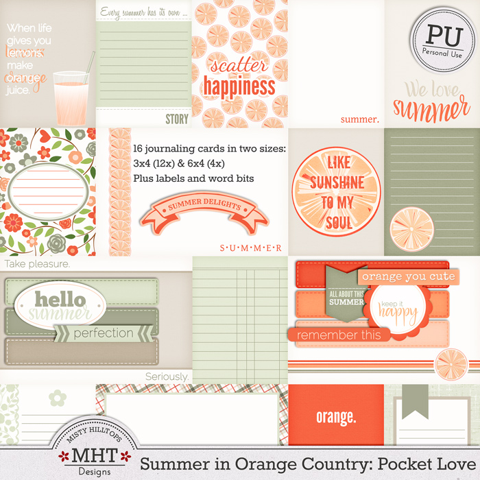 freebie, project life, pocket scrapping