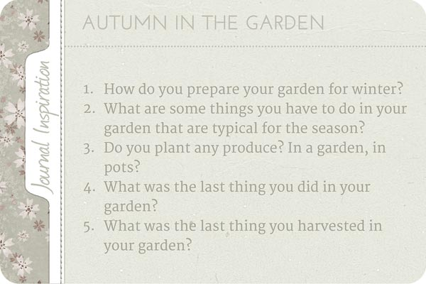 journaling prompts, writing ideas, journaling inspiration, journaling cafe, garden in autumn, schreibwerkstatt, tagebuchideen