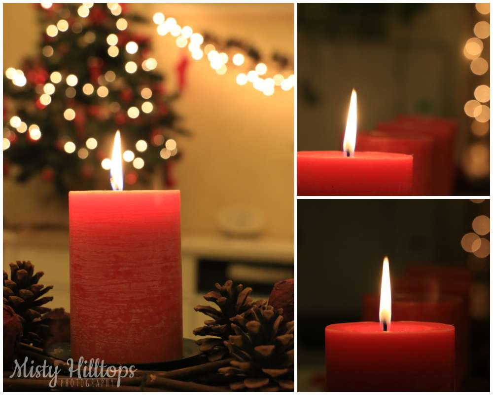 candle light, christmas