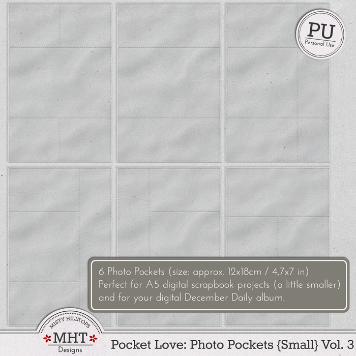 freebie, photo pockets, pocket love, misty hilltops designs