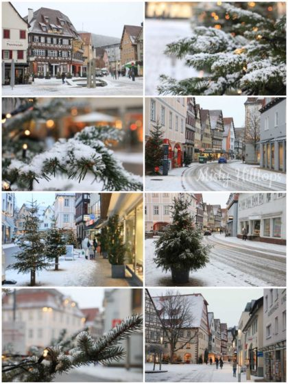 Nagold, christmas, winter, snow