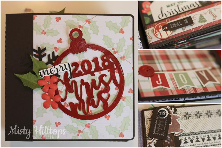 December Daily, Weihnachtsalbum, Dezember Album, diy, mini album, journaling cards